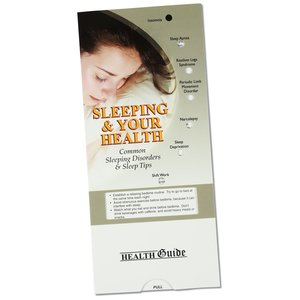Sleeping & Your Health Pocket Slider - Closeout Main Image