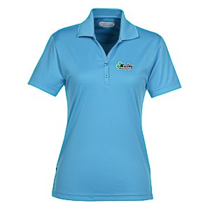 Moreno Textured Micro Polo - Ladies' - TE Transfer Main Image