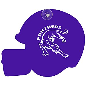 Window Sign - Football Helmet - Plastic - Color Main Image