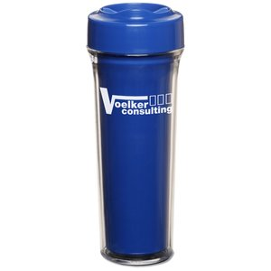 Silver Shield Antimicrobial Tumbler - 14 oz. - Closeout Main Image