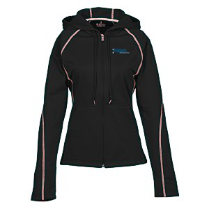 Tonle Full-Zip Performance Hoodie - Ladies' - TE Transfer Main Image