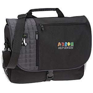 Verve Checkpoint-Friendly Laptop Messenger Bag - Emb Main Image