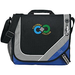 Bolt Urban Messenger Bag - Embroidered Main Image