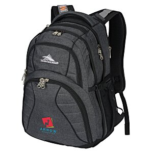 High Sierra Swerve Laptop Backpack - Embroidered