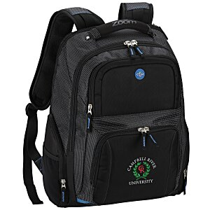 Zoom Checkpoint-Friendly Laptop Backpack - Emb Main Image