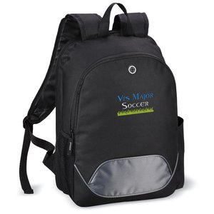 Outbound Checkpoint-Friendly Laptop Backpack - Embroidered