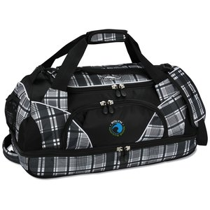 "High Sierra 24"" Crunk Cross Sport Duffel - Plaid - Emb Main Image"