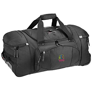 "High Sierra 26"" Wheeled Duffel Bag - Embroidered Main Image"