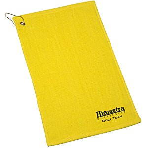 "Hemmed Golf Towel - 11"" x 18"""