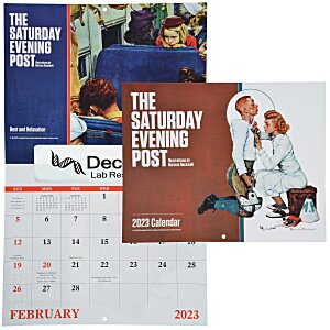 Saturday Evening Post Norman Rockwell Calendar - Window Main Image
