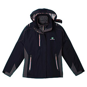 Teton 3-in-1 Waterproof Jacket - Ladies' - 24 hr Main Image