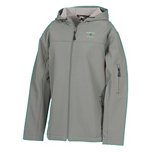 Devon & Jones Hooded Soft Shell Jacket - Ladies' Main Image