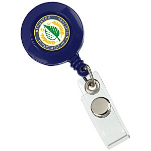 Retractable Badge Holder - Alligator Clip - Opaque Main Image