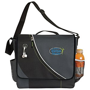 Slalom Messenger Bag - Embroidered Main Image