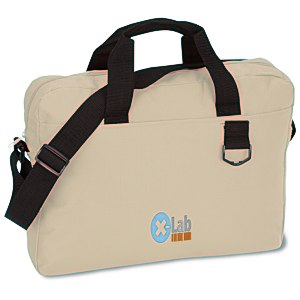 Slim Organizer Brief Bag - Embroidered Main Image