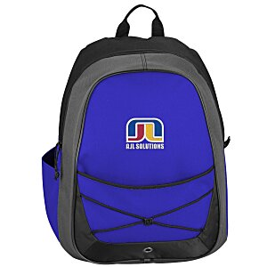 Tri-Tone Sport Backpack - Embroidered Main Image