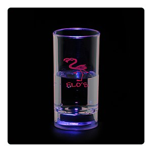 Liquid Activated Light-Up Shooter Glass - 2 oz. Main Image
