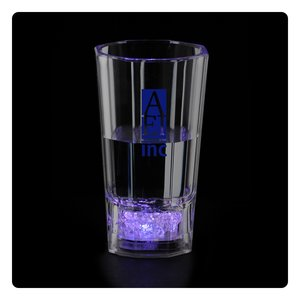 Liquid Activated Light-Up Fluted Shot Glass - 2 oz. Main Image