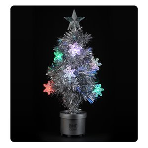 "Light-Up Tree - 24"" - Silver Main Image"