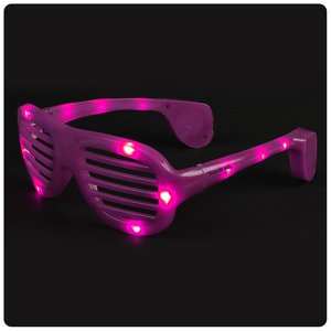 Light-Up Slotted Glasses Main Image