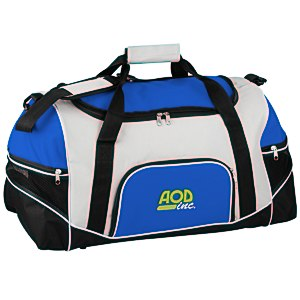 Tri-Pocket Sport Duffel - Embroidered Main Image