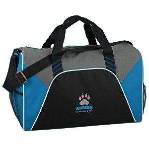 Color Panel Sport Duffel - Embroidered Main Image