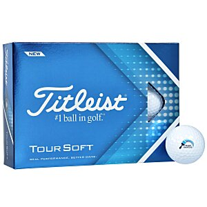 Titleist Tour Soft Golf Ball – Dozen – Quick Ship Main Image