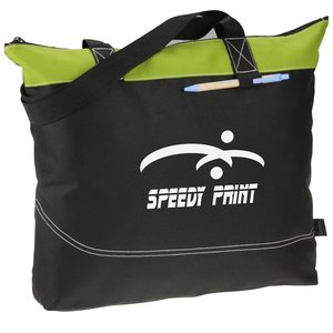 Network Zippered Tote - Closeout Main Image