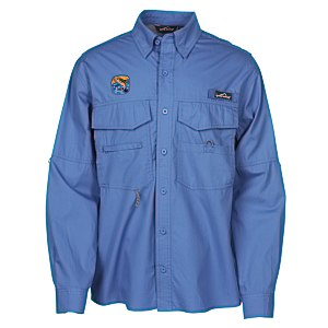Eddie Bauer Cotton LS Angler Shirt Main Image
