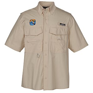 Eddie Bauer Cotton SS Angler Shirt Main Image