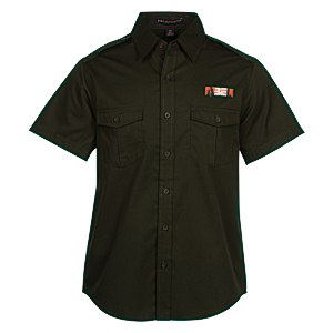 Two-Pocket-Stain Resistant SS Shirt - Men's Main Image