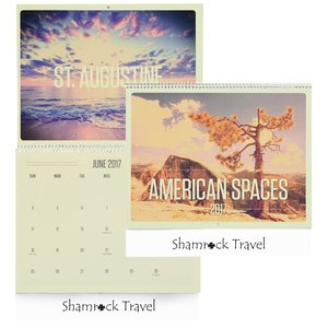 American Spaces Calendar Main Image