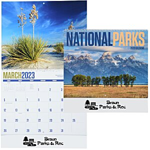 National Parks Calendar Main Image