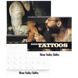 Tattoo Art Calendar Main Image