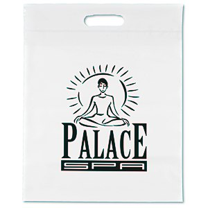 "Take Home Bag - 15"" x 12"" - White"