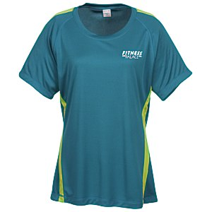 Colorblock Contender Tee - Ladies' Main Image