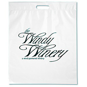 "Take Home Bag - 18"" x 15"" - White Main Image"