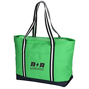Large Cotton Canvas Admiral Tote - Screen Main Image