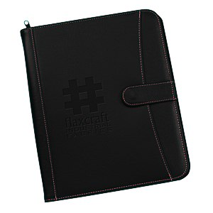 Pebble Grain Faux Leather Portfolio Main Image