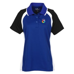 Tri-Color Performance Polo - Ladies' Main Image