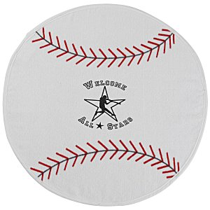 Sport Ball Towel - Baseball