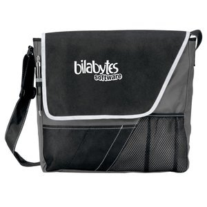 Accent Messenger Bag - Closeout Main Image