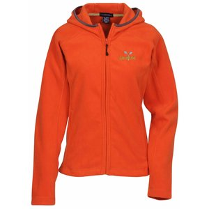 Landmark Full Zip Microfleece Hoodie - Ladies' - 24 hr Main Image
