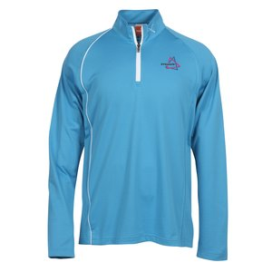 PUMA Golf 1/4 Zip Cresting Pullover - Men's