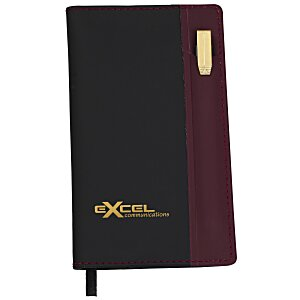 Lafayette Soft Cover Memo Book with Pen Main Image
