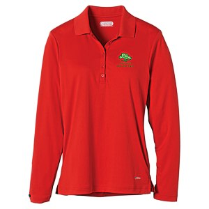 Brecon Long Sleeve Moisture Wicking Polo - Ladies' - 24 hr Main Image