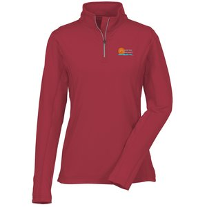 Caltech Performance 1/4 Zip Pullover - Ladies' - 24 hr Main Image