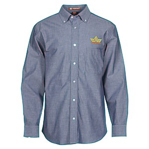Harriton Chambray Shirt - Men's