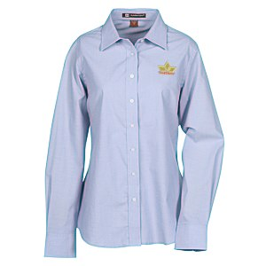 Harriton Chambray Shirt - Ladies' Main Image