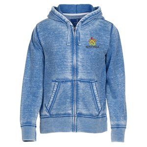Ridgemont Burnout Full Zip Hoodie - Men's Main Image